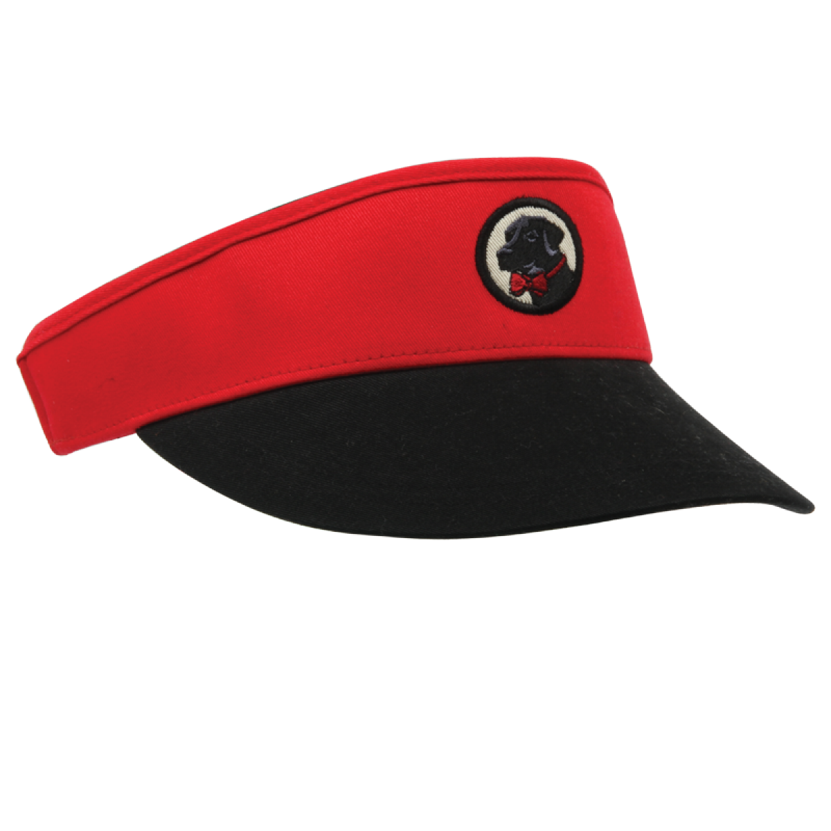 Red and Black Visor
